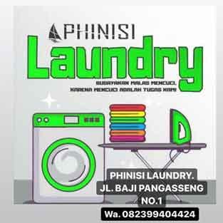 Lowongan Kerja Karyawan di Phinisi Laundry Makassar