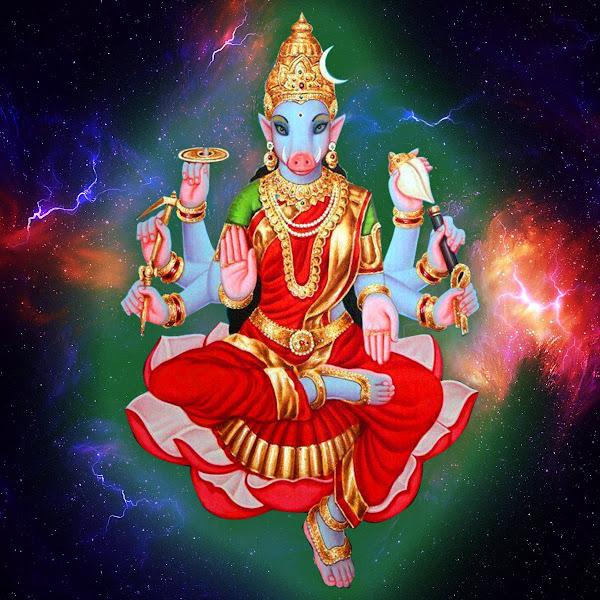Varahi Devi AshTottara Shatanamavali lyrics meaning in telugu pdf free download video - వారాహి దేవి అష్టోత్తర శతనామావళి