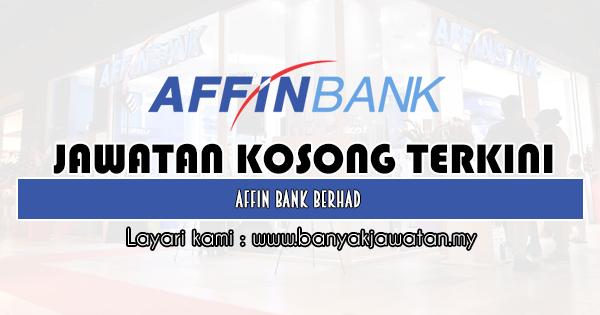 Jawatan Kosong 2020 di Affin Bank Berhad