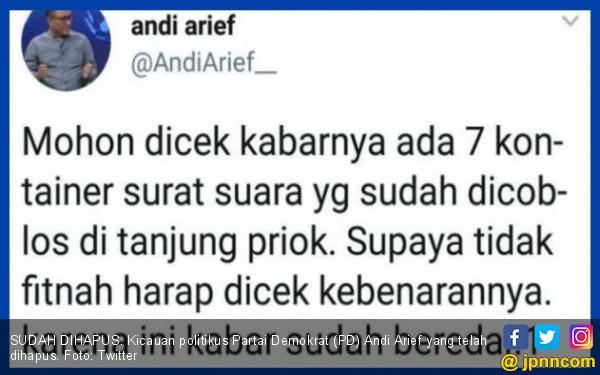 Tim Sukses Prabowo - Sandi Siap Bela Andi Arief