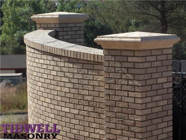 Brick Driveway Image Brick Driveway Columns