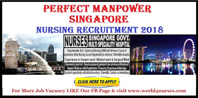 Perfect Manpower Singapore Nursing Recruitment 2018