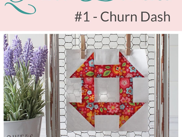 "{Classic Quilt Blocks}  Churn Dash - An Introduction <img src=""https://pic.sopili.net/pub/emoji/twitter/2/72x72/2702.png"" width=20 height=20>"