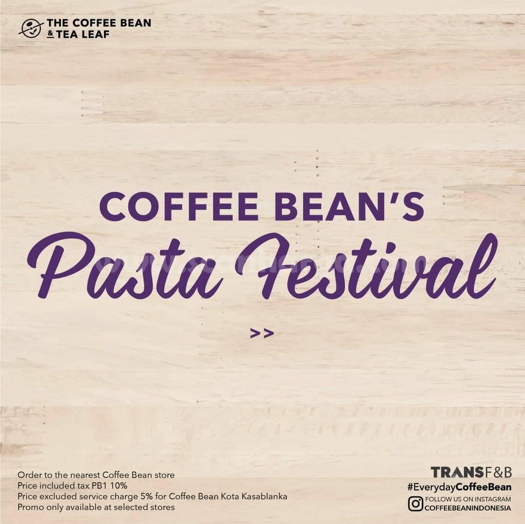 The Coffee Bean Promo Pasta Festival | 12 Mei - 6 Juni 2021