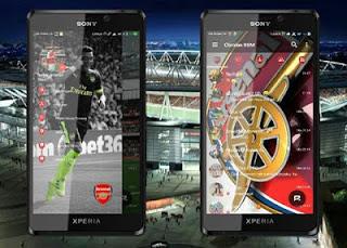 Download BBM Tema Arsenal Tanpa Iklan Full Dp V3.3.1.21 untuk android