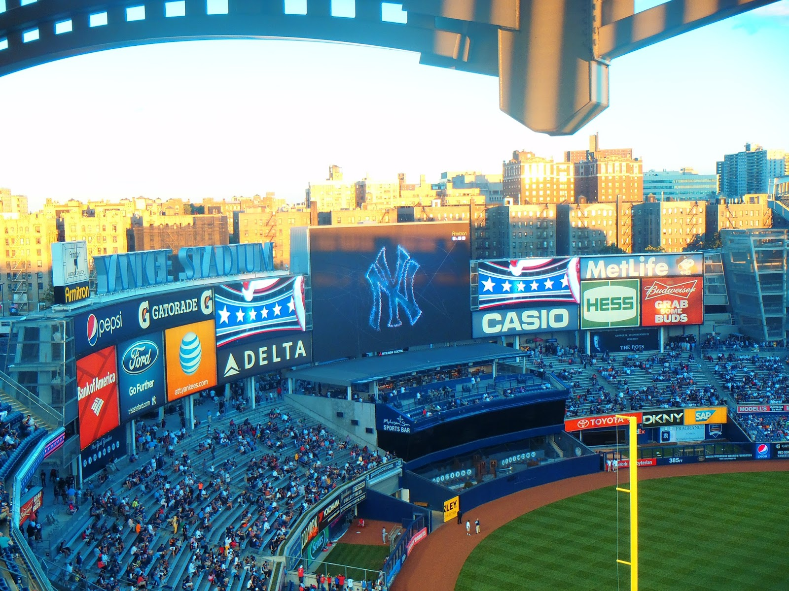 Yankee Stadium Screens