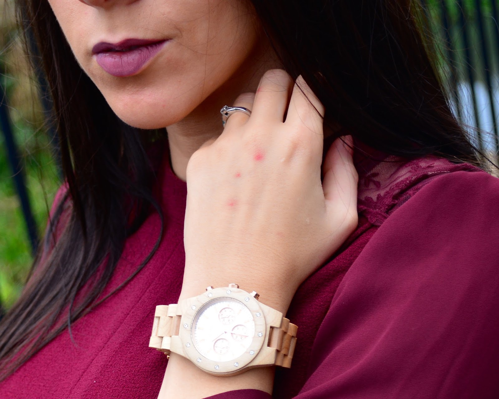 Lord Wooden Watch, Rose Gold Wooden Watch, Watch, Rose Gold Watch, Accessories