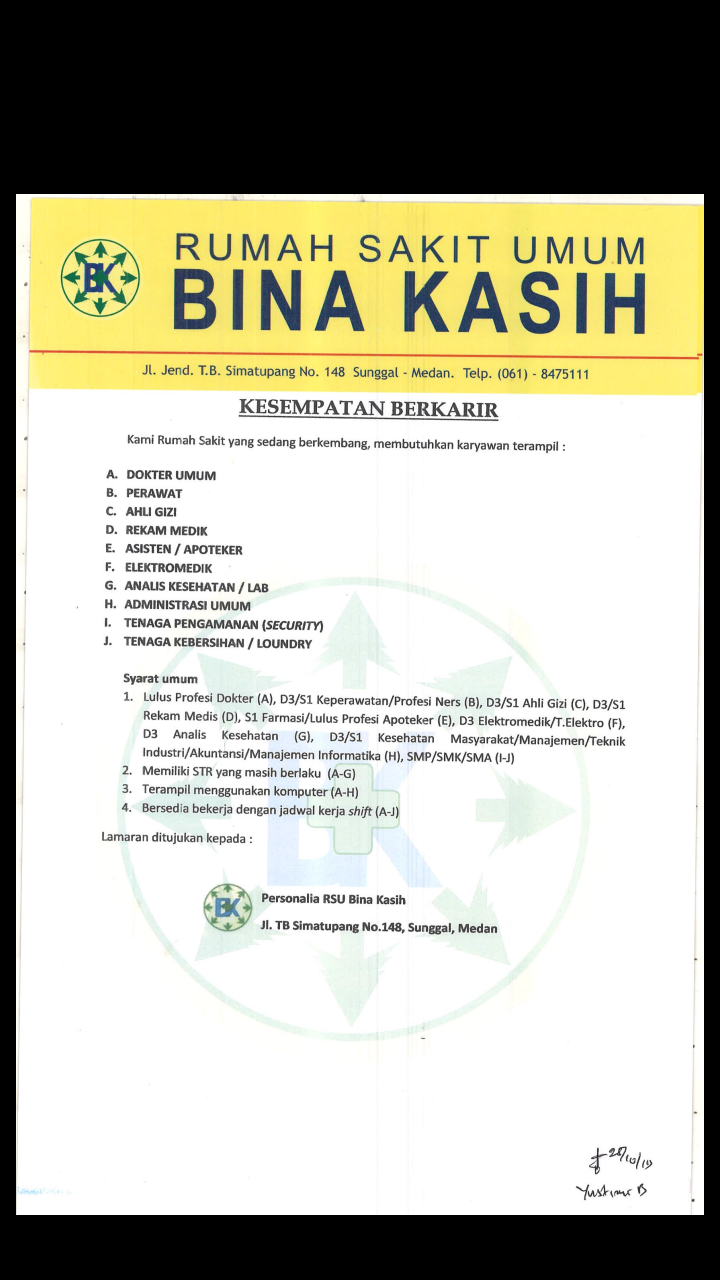 Info Loker Medan Hari Ini : loker, medan, Lowongan, Kerja, Medan, Terbaru, Desember, Kasih, Tahun