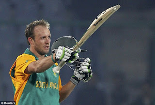 West Indies vs South Africa 7th Match ICC Cricket World Cup 2011 Highlights