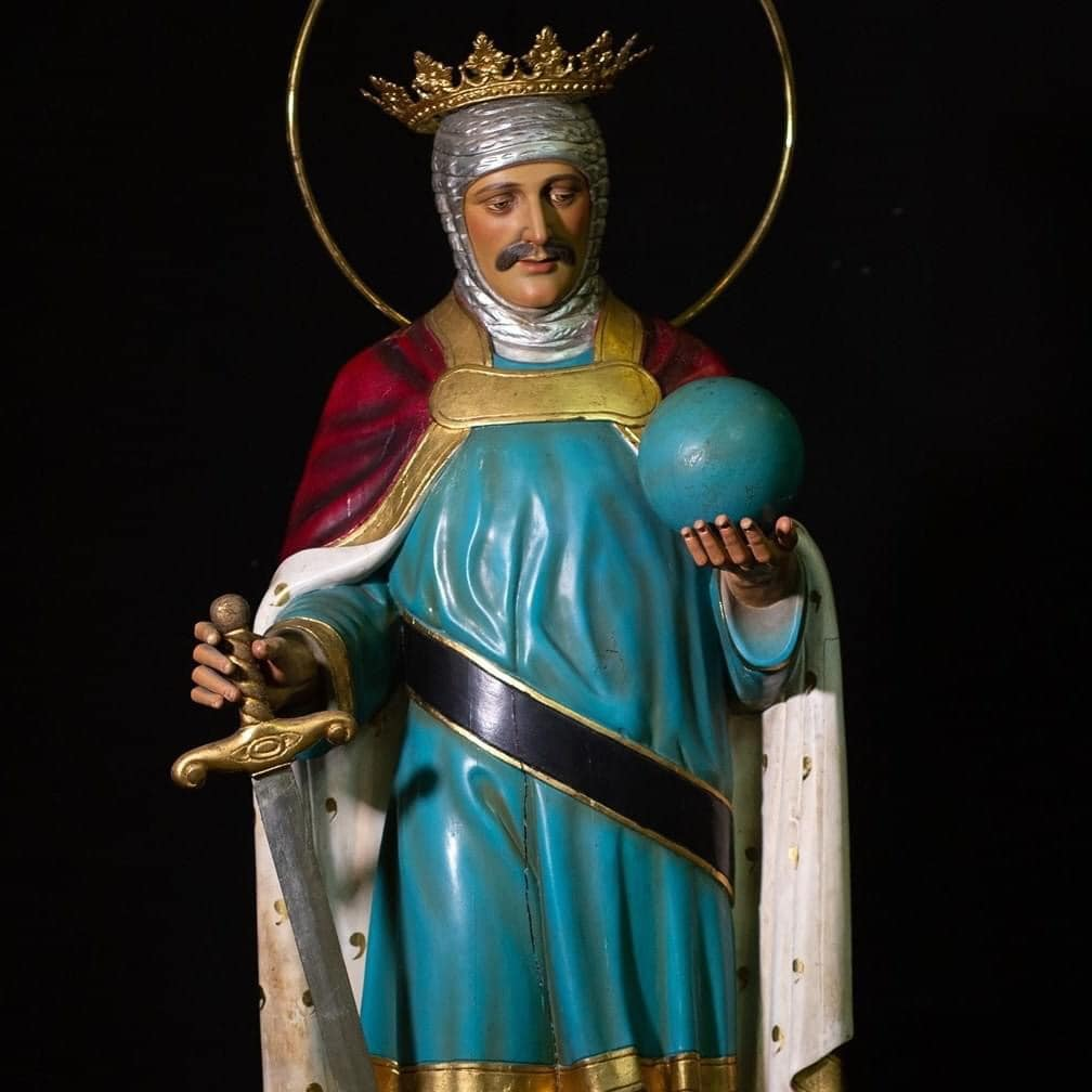 Image of St. Ferdinand, King of Castile and León, patron of the town of San Fernando since it was established in 1791