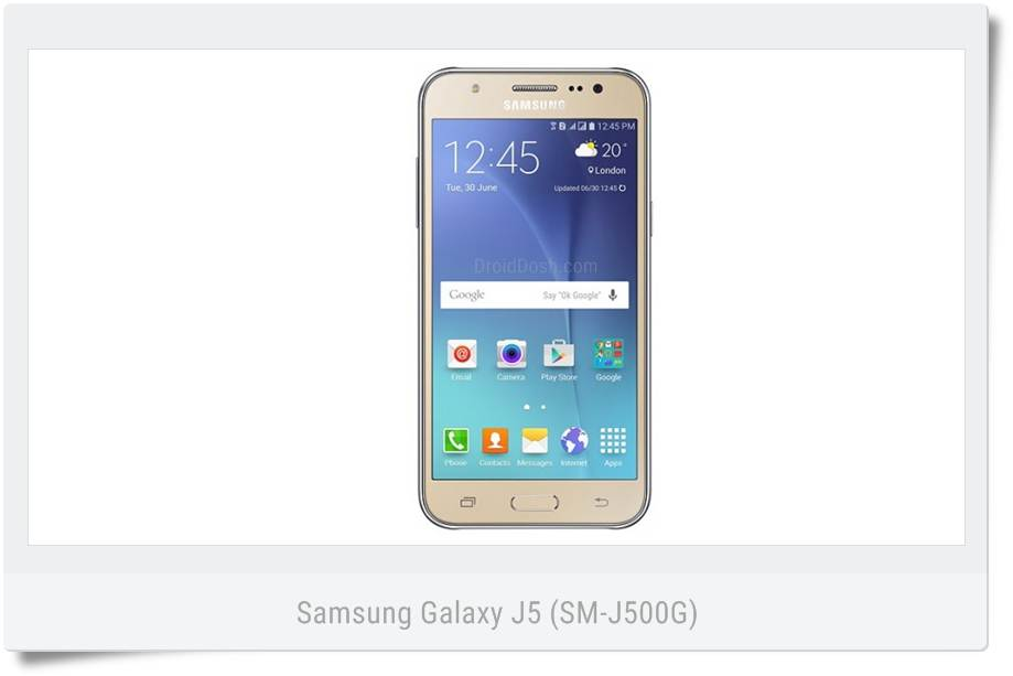 Download firmware Samsung Galaxy J5 2015 (SM-J500G) XID Indonesia