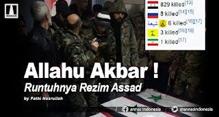 ALLAHU AKBAR ! - Runtuhnya Rezim ASSAD