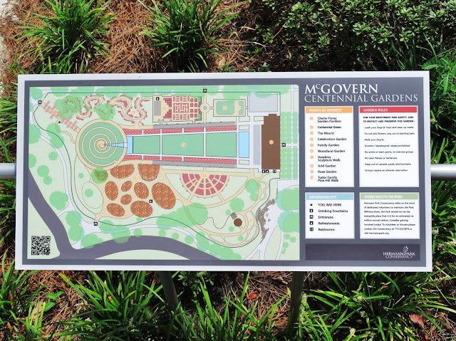 McGovern Centennial Gardens Site Plan with Legends - Points of Interest