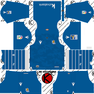 Real Sociedad 2019/2020 Kit - Dream League Soccer Kits