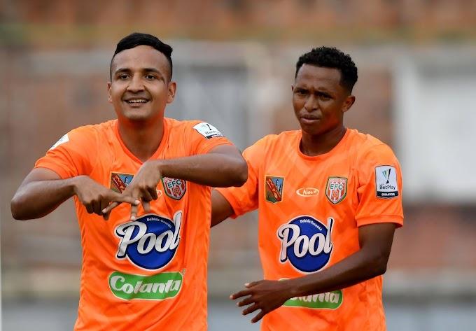 Celebración 'Pijao' en la Liga BetPlay 1 2021: Iván Rojas volvió al gol con el Envigado Fútbol Club
