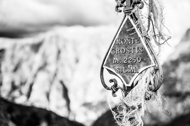 Gipfelkreuz Monte Crostis
