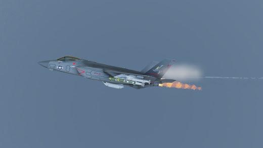 Arma3用F/A-35E MODにアフターバーナー