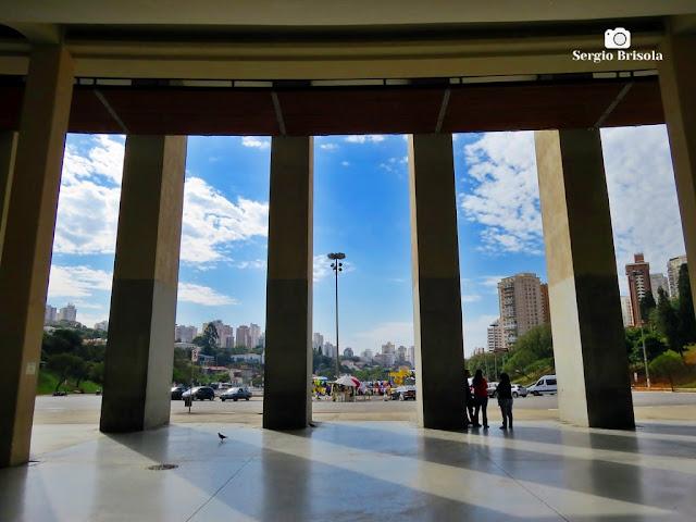 Perspectiva interna do Saguão de entrada do Estádio do Pacaembu - São Paulo