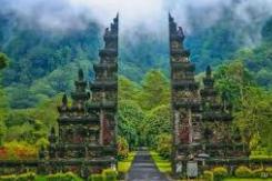 ist unglaublich Interessante Tourism Object in Bali Indonesien