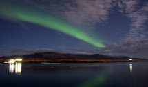 Iceland And Video Aurora Borealis In