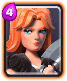 Clash Royale Valkyrie Card - Cards Wiki