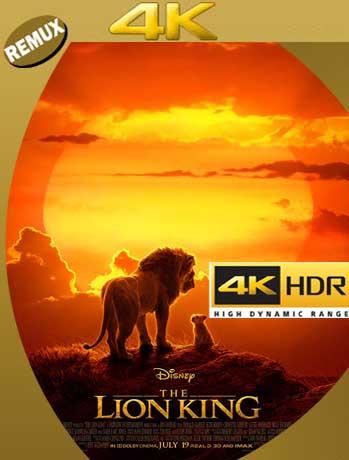 El Rey León (The Lion King) (2019) 4K REMUX 2160p UHD [HDR] Latino [GoogleDrive]