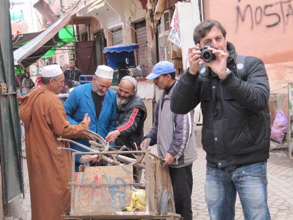 zocos de Marrakech, discusiones de ventas
