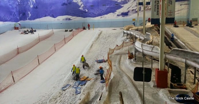 Chill Factore Manchester Trafford Centre Sledging slope and tubing run