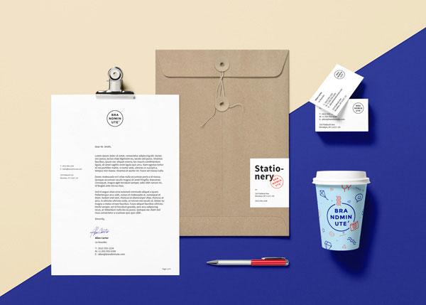 Free Branding, Identity MockUp