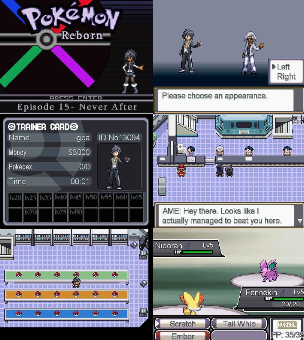 Pokemon Reborn RPG Maker XP Download