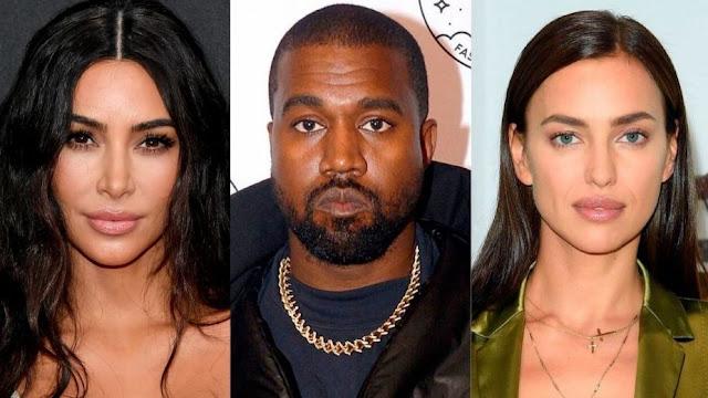 Esto dijo Kim Kardashian sobre la relación de Kanye West con Irina Shayk