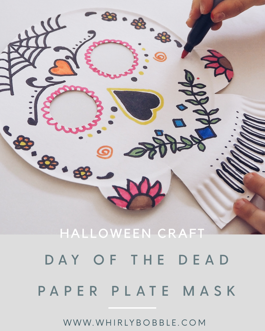 Halloween Craft: Day of the dead mask