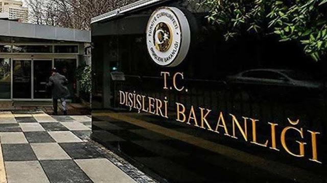 """Το τουρκικό ΥΠΕΞ κάλεσε τον Έλληνα πρέσβη για """"παραβιάσεις των τουρκικών υδάτων"""""""
