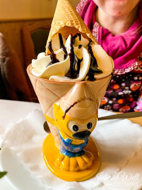 Kindereis im Restaurant Dornröschenshöh