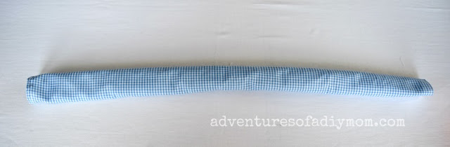 fabric tube for scrunchie