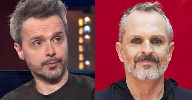 Juan Gómez-Jurado y Miguel Bosé