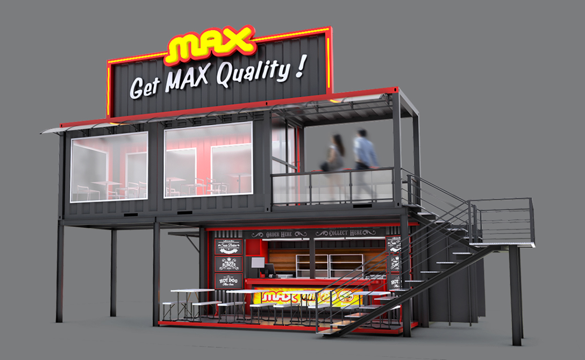 Jual Cafe Container surabaya Jual Container office Jual