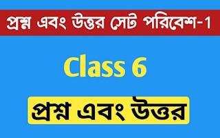 ষষ্ঠ শ্রেণির আমাদের পরিবেশ প্রশ্ন এবং উত্তর সেট - 1 । Class 6 Env. Science Question And Answer set -1 । লোহার একটি আকরিকের নাম লেখো...। kankandighi Babujan Sepai High School । NewsKatha.com