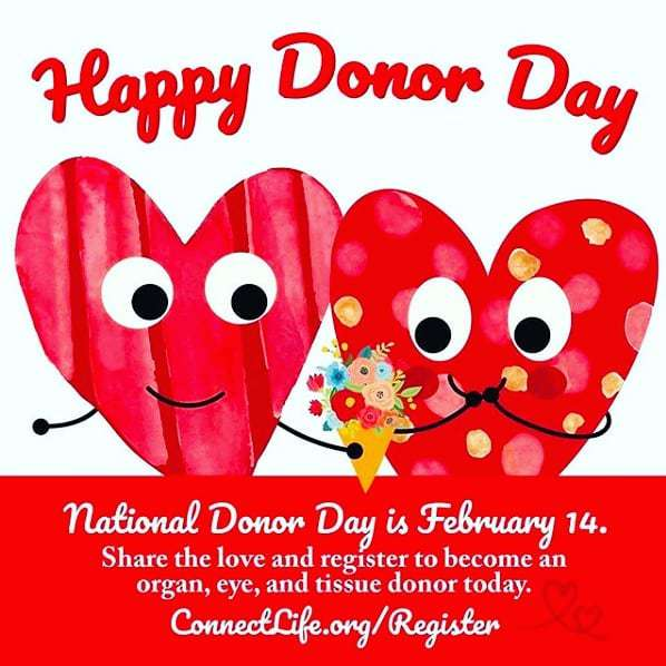 National Donor Day Wishes Sweet Images