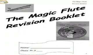 شيتات اسئلة واجابات بالترجمة على قصة The magic flute