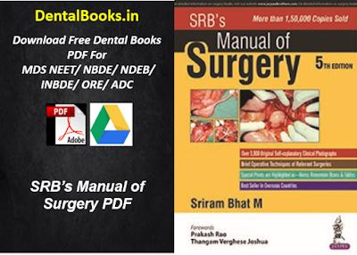 SRB's Manual of Surgery PDF DOWNLOAD