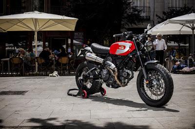 """Ducati Scrambler """"Regolarita"""" Custom"""