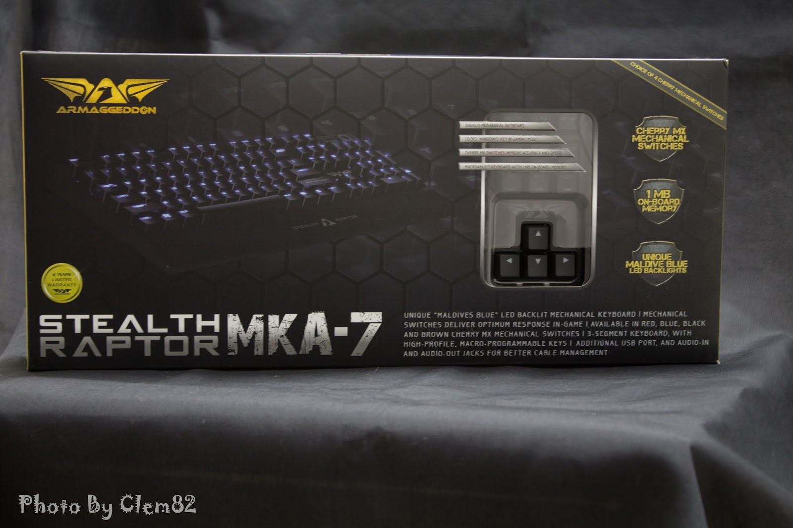 Armaggeddon Stealth Raptor MKA-7 Mechanical Gaming Keyboard 36
