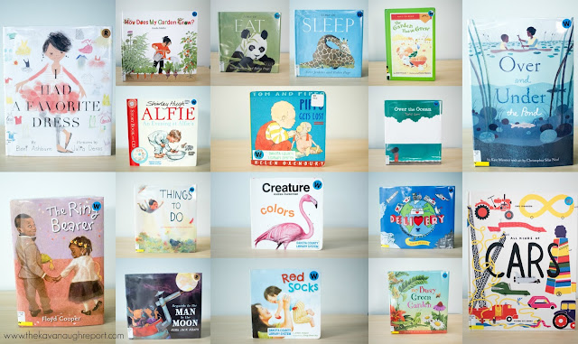 Montessori friendly books for May. A look at our Montessori home library books.
