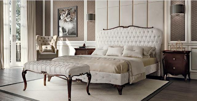 Mobilier dormitor in stil clasic italian