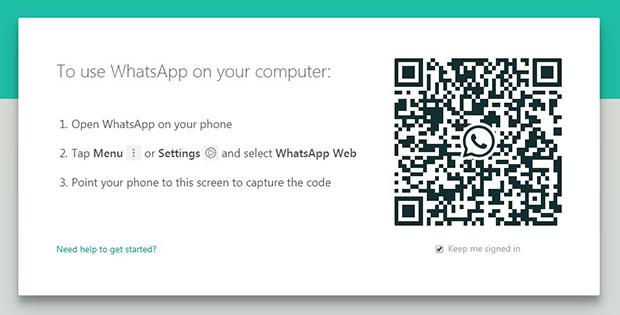 WhatApp Web via PC atau Laptop