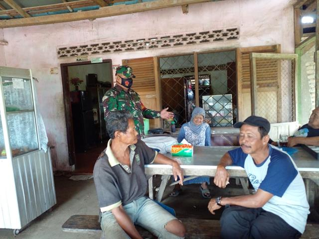 Ops PPKM Diwilayah Simalungun Dilaksanakan Personel Jajaran Kodim 0207/Simalungun