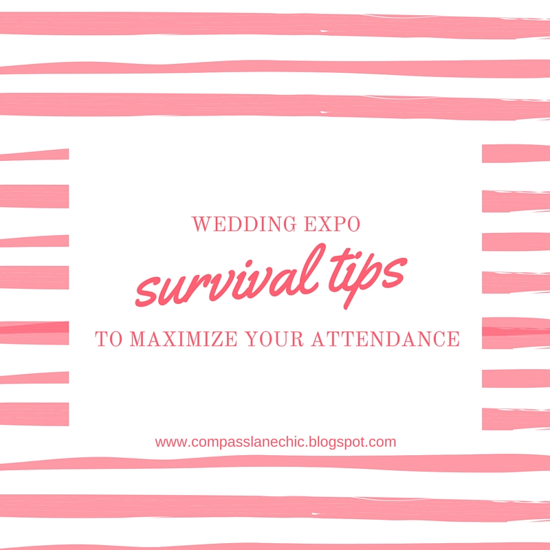 wedding expo tips
