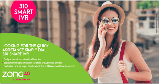 Zong 4G's 310 Smart IVR – Leading Innovations in Customer Care