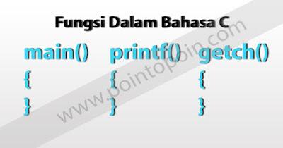 Fungsi Dalam Bahasa C